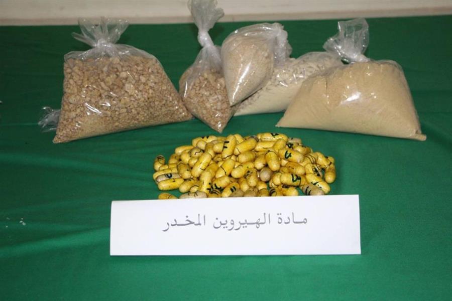 """ضبط 4.4 ملايين قرص """"أمفيتامين"""" و15 كيلو جراماً من """"الشبو"""" و """"الهيروين"""" في الرياض والشرقية"""