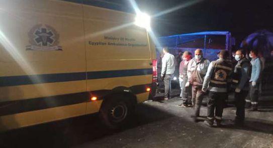 مقتل 20 شخصًا وإصابة 3 آخرين في تصادم في مصر
