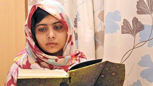 الفتاة الباكستانية ملالا يوسف زاي