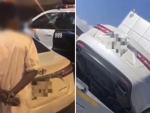 """""""الداخلية"""": الإطاحة بمواطن هدد صاحب سطحة بالسلاح وأجبره على نقل سيارة بغرض سرقتها في عسير"""