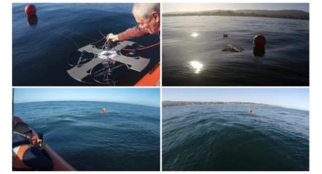 طائرة aqua-quad للبحث عن الغواصات في الماء