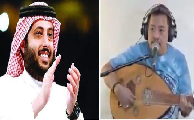 فيديو.. فرقة موسيقية آسيوية تبدع في تأدية أغنية خليجية.. وتركي آل الشيخ يتفاعل