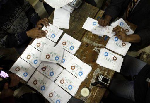 المرحلة الاولى من الاستفتاء على الدستور في مصر