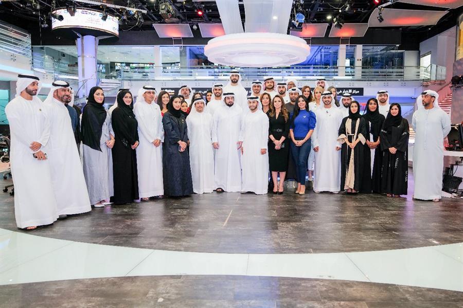 """محمد بن راشد: تضم 3 آلاف مؤسسة إعلامية.. اليوم """"دبي للإعلام"""" تكمل عامها الـ20"""