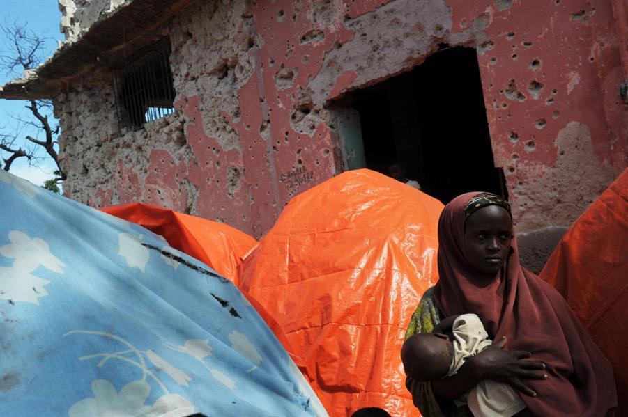 """الرئيس الصومالي يعلن عن """"كارثة"""" تضرب بلاده بسبب الجفاف"""