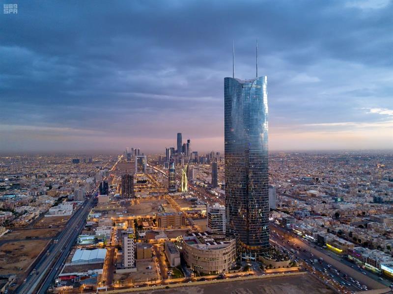 أخبار 24 صور رائعة لمدينة الرياض بعد هطول الأمطار