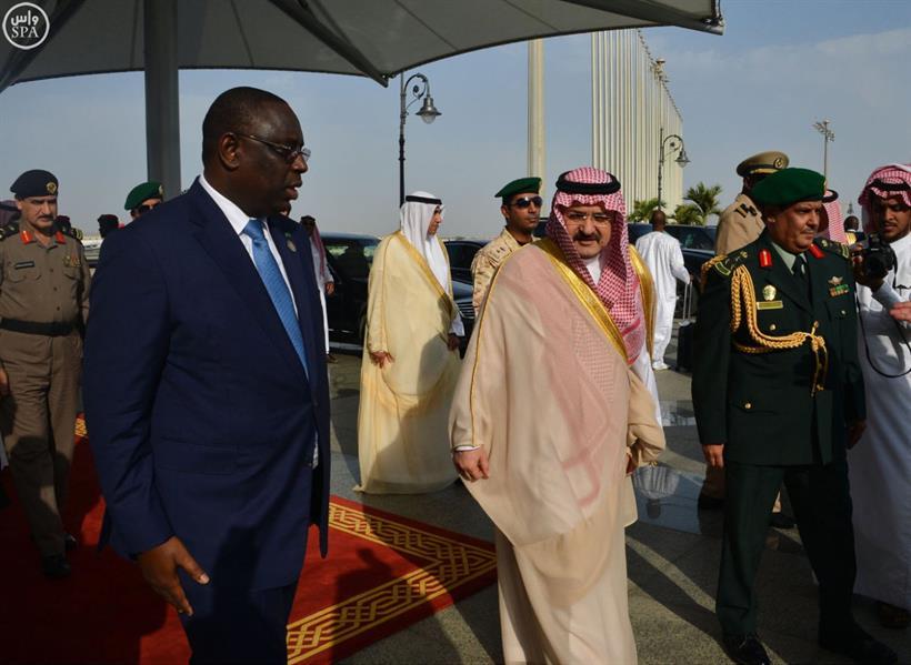 رئيس جمهورية السنغال يصل جدة