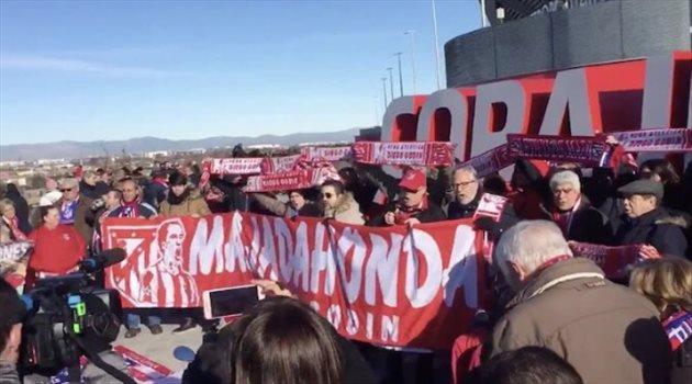مظاهرات جماهيرية للمطالبة ببقاء جودين بأتليتكو