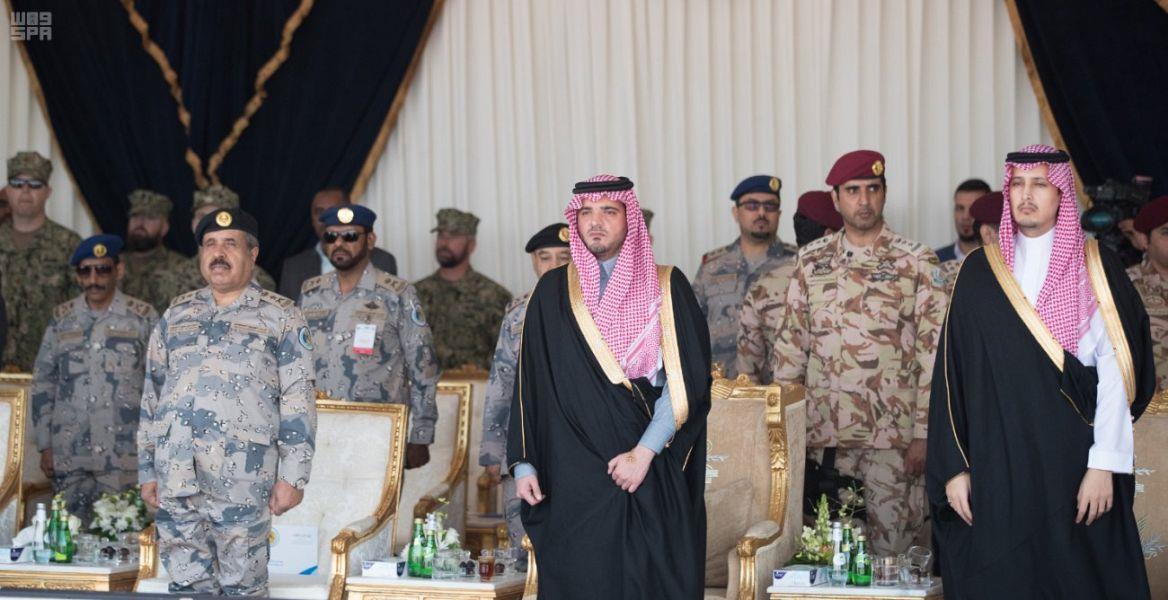 وزير الداخلية يفتتح مقر ومدرسة قوة أمن وحماية المرافق البحرية في رأس تنورة