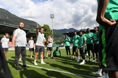 «الأخضر» يختتم تحضيراته استعدادًا لمواجهة إيطاليا غدًا