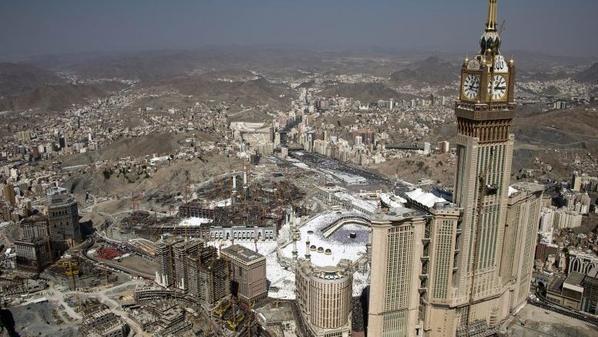 صورة لمدينة مكة من الجو- نقلا عن واس_