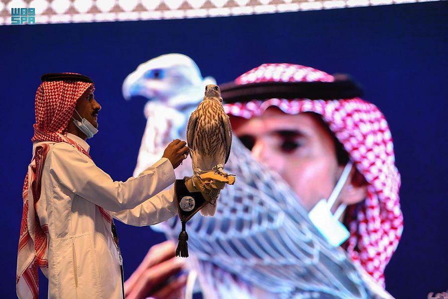 بيع أغلى صقر من إنتاج سعودي بـ270 ألف ريال (صورة)