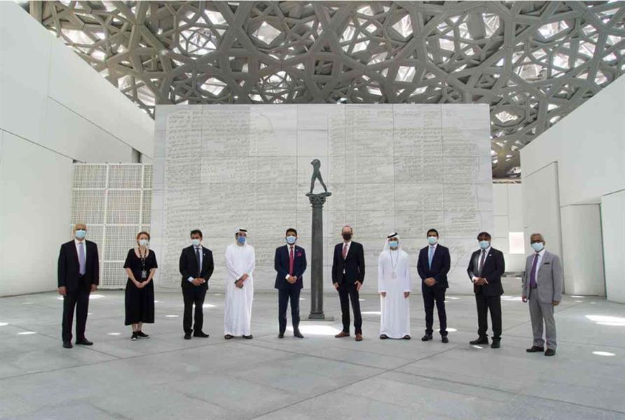 متحف اللوفر - أبوظبي يفتح أبوابه ويوفر بيئة آمنة