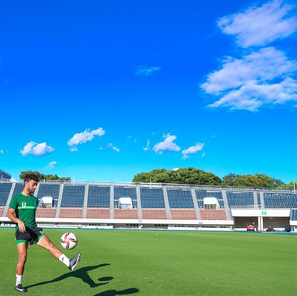 """""""الأخضر"""" الأولمبي يختتم تحضيراته لـ """"البرازيل"""" بمران تكتيكي"""