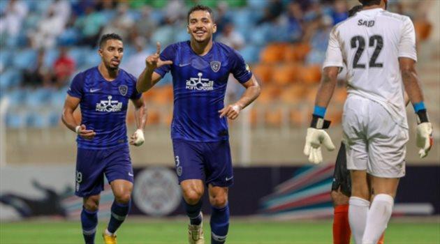 """إدواردو يتوج بجائزة """"الأفضل"""" في مباراة الهلال والشباب العماني"""