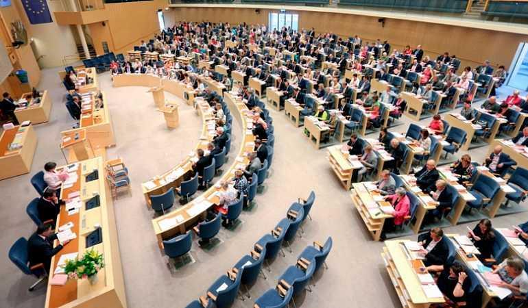 البرلمان السويدي