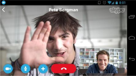 skype video call