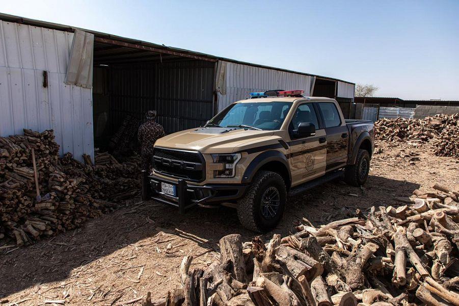 ضبط أكثر من ألف طن من الحطب المحلي المعروض للبيع في مدينة الرياض