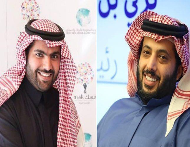 تركي ال الشيخ والامير بدر بن فرحان