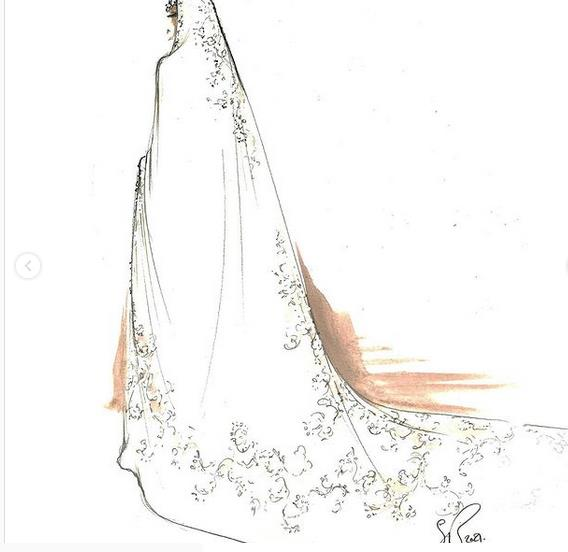 من بطاقات الدعوة لفستان العروس.. لمسات تراثية في حفل زفاف الأميرة حصة بنت سلمان؟