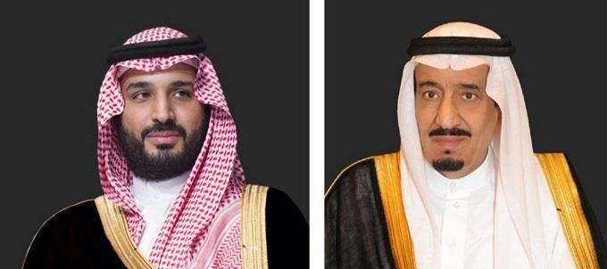 الملك سلمان بن عبدالعزيز والأمير محمد بن سلمان