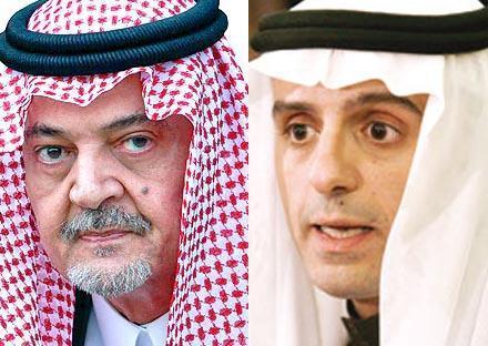 عادل الجبير و سعود الفيصل