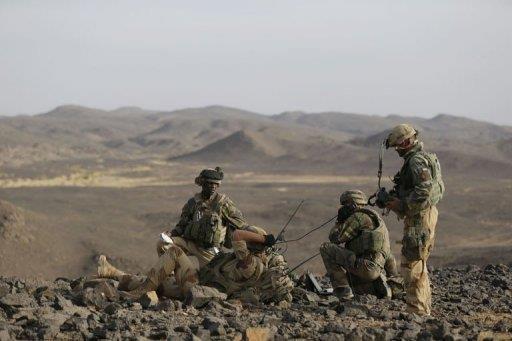 جنود فرنسيين في شمال مالي