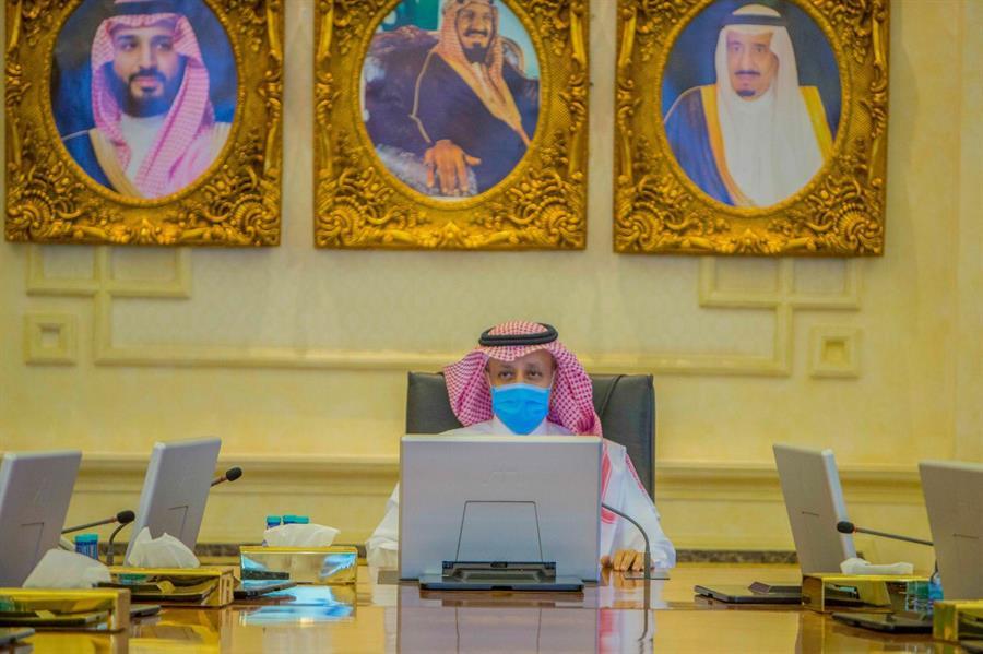 الدلاك يلتقي قادة مركز العمليات الأمنية