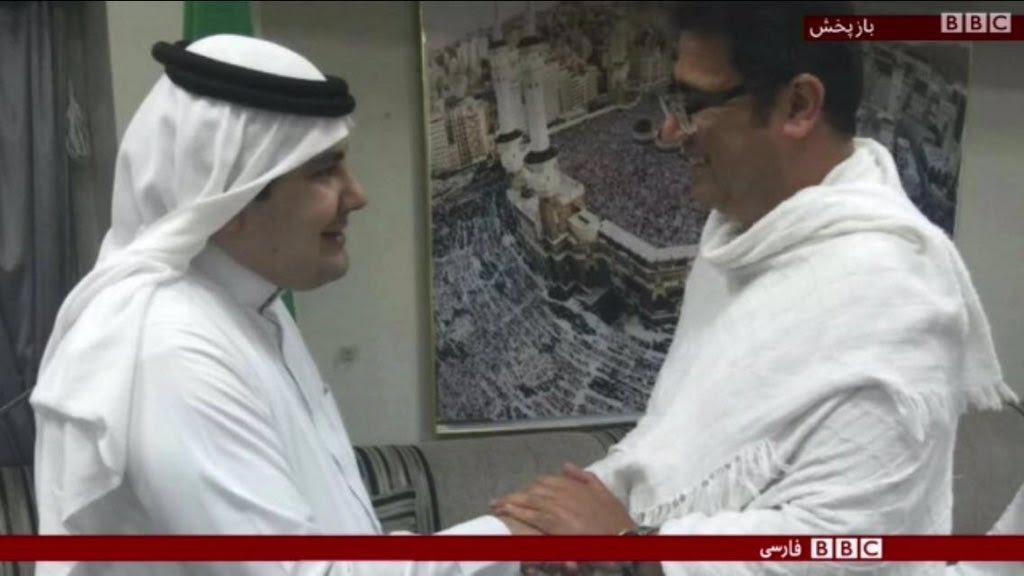 إعلامي إيراني يشيد بجهود المملكة في خدمة الحجاج.. والسلطات الإيرانية تضغط عليه باعتقال والده