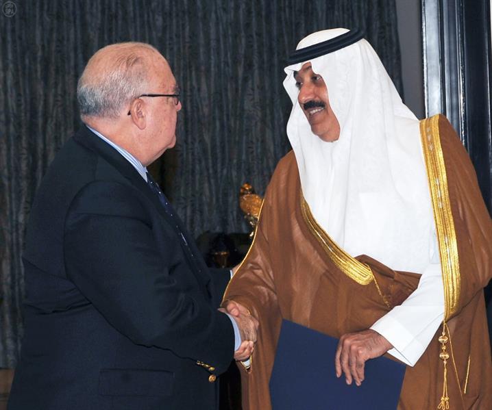 سمو الأمير متعب بن عبدالله يستقبل السفير الأمريكي لدى المملكة