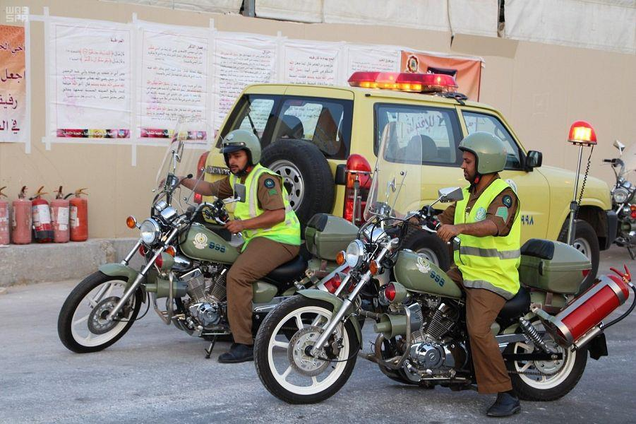 اللواء المطرفي: تجهيز 63 مركزاً ميدانياً و273 وحدةً للتدخل السريع لتوفير خدمات الإطفاء والإنقاذ والإسعاف