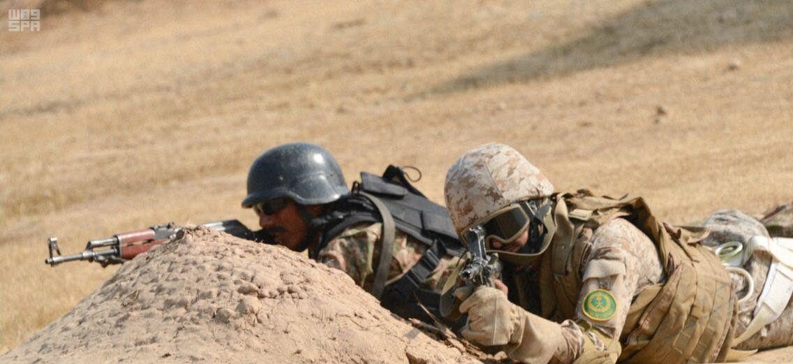 """شاهد.. اختتام تمريني """"التفوق الجوي"""" و""""الصمصام"""" بين القوات السعودية والباكستانية"""