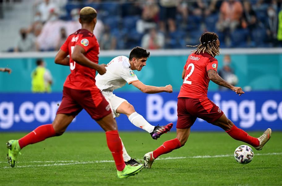 إسبانيا تخطف بطاقة التأهل لنصف نهائي يورو 2020 بصعوبة أمام سويسرا
