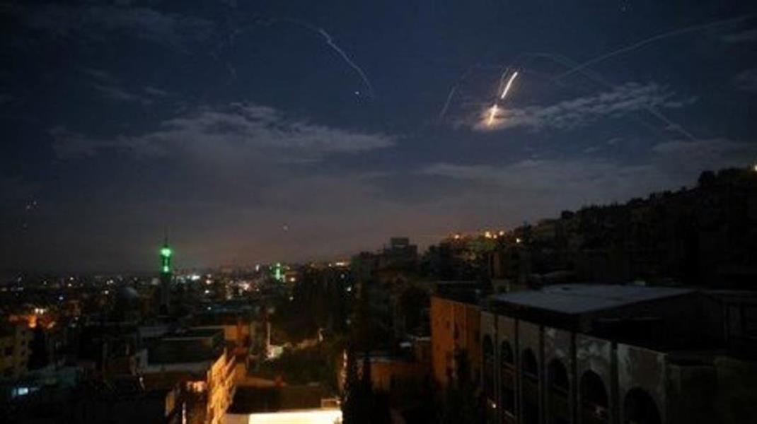 غارات إسرائيلية فوق دمشق