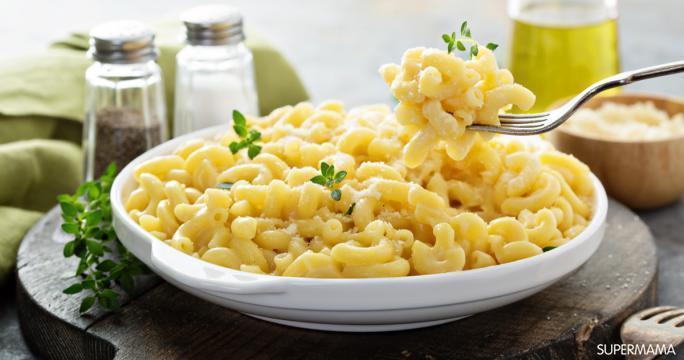 المكرونه و الجبن