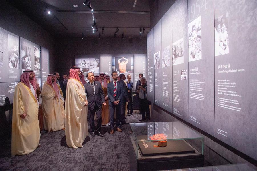 جانب من زيارة المتحف
