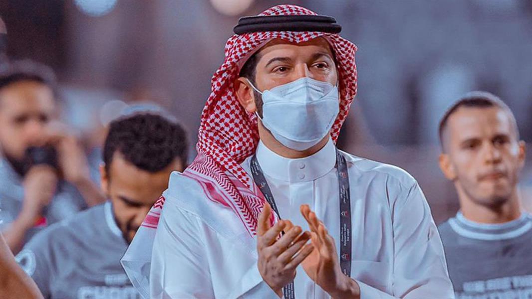 دموع فهد بن نافل عقب مباراة التعاون