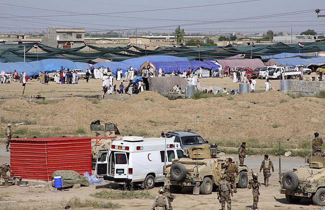 قوات عراقية تدخل ناحية سليمان بيك بعد انسحاب المسلحين
