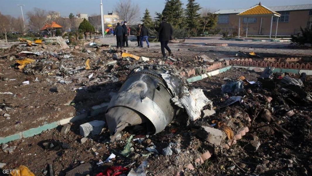 الطائرة الاوكرانية