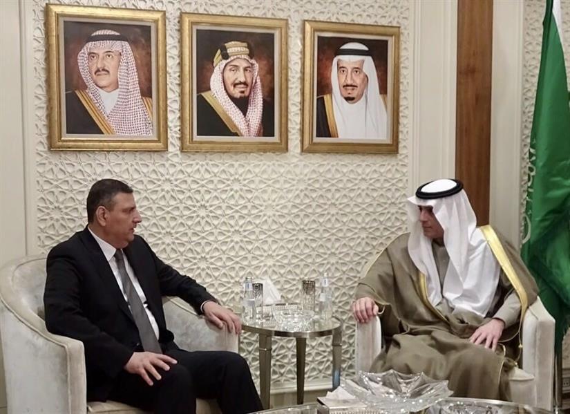 وزير الخارجية يستقبل المنسق العام للهيئة العليا للمفاوضات لقوى الثورة والمعارضة السورية