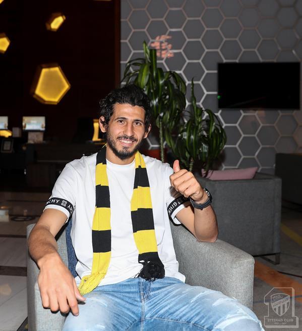 المحترف المصري أحمد حجازي يصل جدة