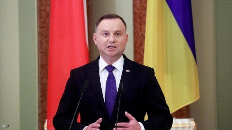 """إصابة الرئيس البولندي اندريه دودا بفيروس """"كورونا"""""""