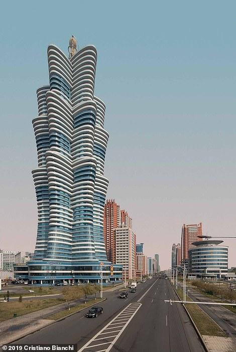 """برج """"يون ها"""" الممكون من 53 طابقاً"""