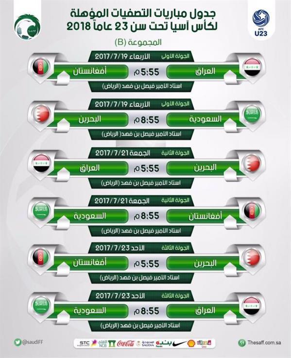 الإمارات تقص شريط آسيا تحت 23 عاماً والأخضر يبدأ الأربعاء