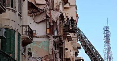 ارتفاع حصيلة ضحايا انهيار عقارات الإسكندرية