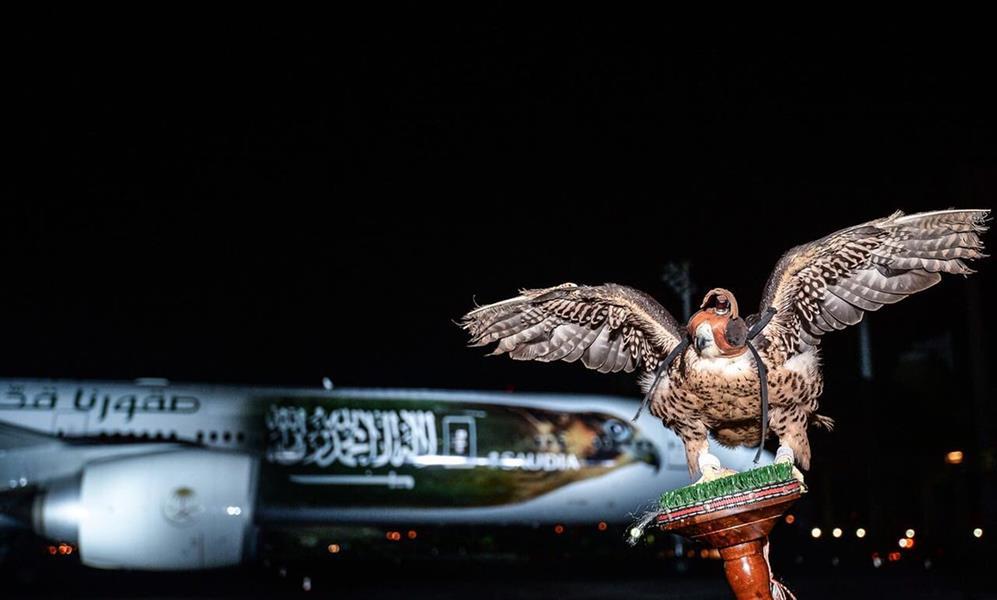صور.. تدشين الطائرة الخاصة التي ستقل المنتخب السعودي لمونديال روسيا