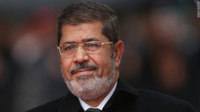 الرئيس المصري المعزول، محمد مرسي
