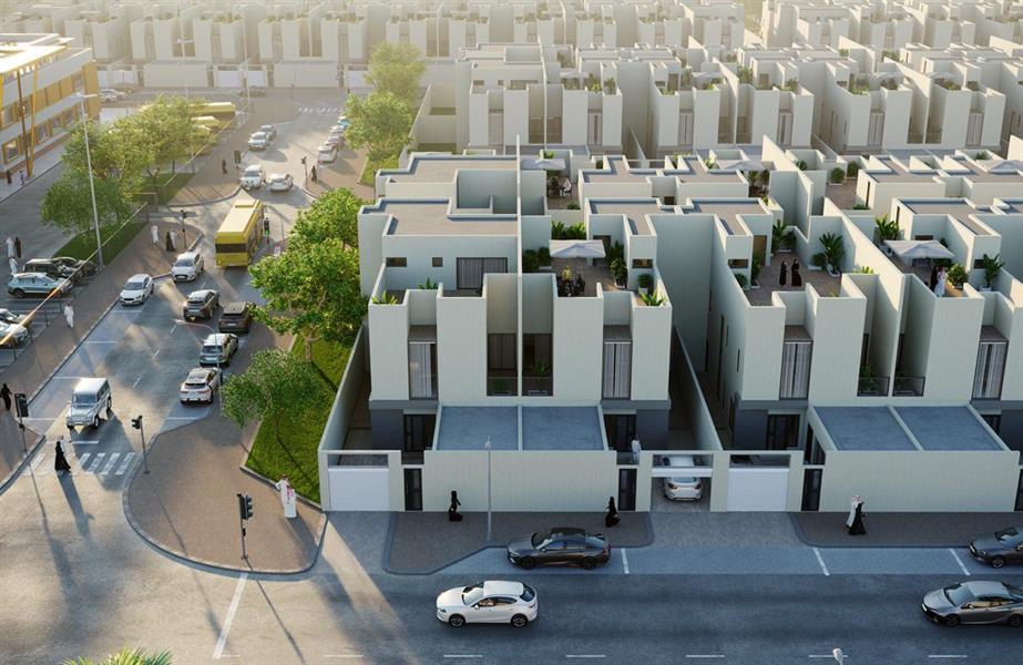 """يوفر 936 """"تاون هاوس"""".. """"الوطنية للإسكان"""" تُطلق مشروع """"سرايا الجوان"""" بالرياض"""