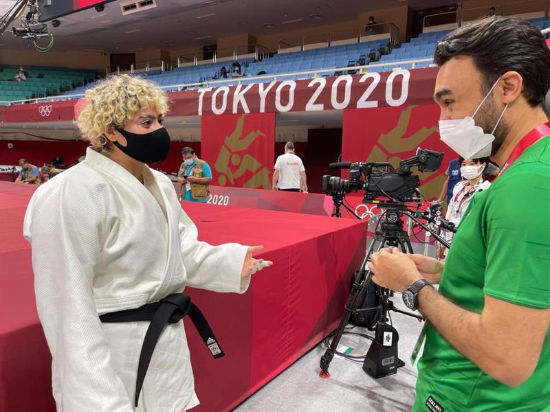 وزير الرياضة يلتقي لاعبة الجودو تهاني القحطاني قبل مواجهاتها الأولى في أولمبياد طوكيو (صور)