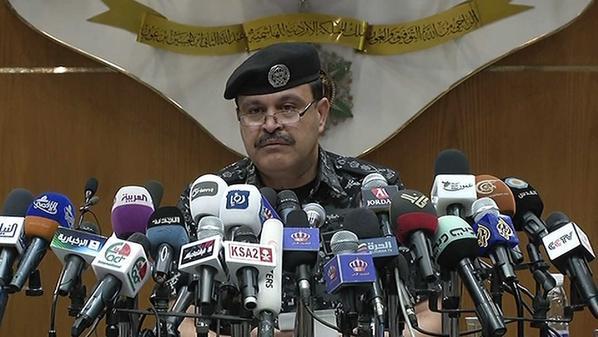 مدير الأمن العام في الأردن حسين المجالي